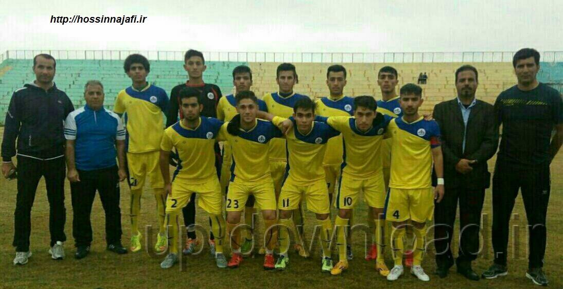 نتایج هفته نهم مسابقات فوتبال لیگ برتر امید های خوزستان در فصل 95/96 + جدول رده بندی